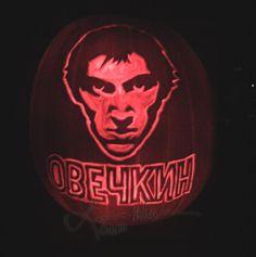 linnea-w-ovechkin-pumpkin ~Washington Capitals~