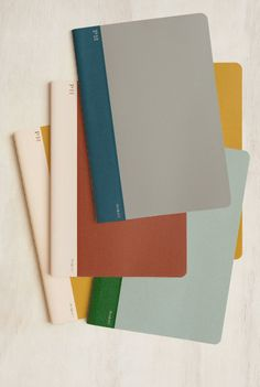 HIGHTIDE - Cheesecloth Notebook - B6 (13x18cm) - Ruled - Soft Cover.