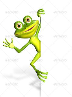 Frog and white background illustration merry green frog and white background JPEG 45405476, PNG JPEG 45405476 created in 3ds ma