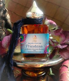Priestess Perfume  anointing oil for space holding by TheSageGoddess