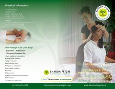 Sharon Feigal Trifold/Leaflet (Outside)