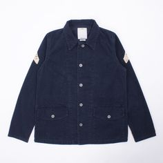 Visvim Corporal Jacket Corduroy - Lovely vintage treated Corporal Jacket Corduroy from Visvim. It features custom cut and hand-stitched vintage bandana patches at the sleeves, branded metal button closure, and two front flap-pockets with button fastening. The special treatment process allows this piece to create its own unique appearance over time. Truly a beautiful piece.