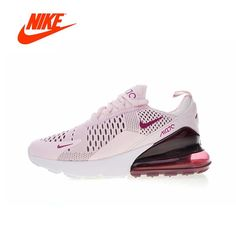 15bf549f9a61 Nike Air Max 270 Womens Running Shoes Sneakers Sport Outdoor Breathable  Original Authentic Designer Athletics Low Top AH6789-400