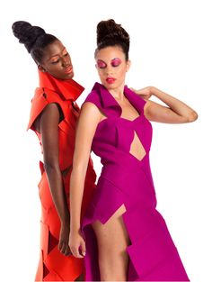 Zero Waste fashion collection consisting of five garments made entirely with design felt.  Zero Waste fashion requires a rigorous design approach. Clothes are designed/built with innovative construction concepts, using 100% of the fabric, rather than traditional pattern-making and clothing production techniques.