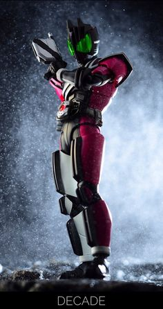 Kamen Rider Toys, Kamen Rider Decade, Kamen Rider Series, Marvel Entertainment, Action Poses, Toys Photography, Power Rangers, Action Figures, Geek