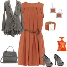 Gray/orange-this is like playing paper dolls.  Better get to studying though.