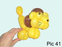 Cat Tiger 2 Lion 2 Balloon Animals