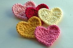 I'm going to teach myself how to crochet a heart!