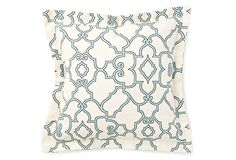 Love this print. One Kings Lane also has matching napkins and table runners.