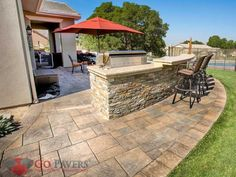 1000 Images About Entertain With Patio Pavers On Pinterest Paver Stones W