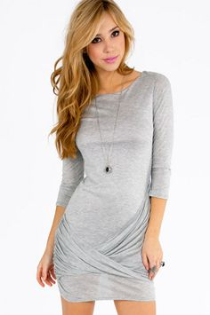 Twist & Wrap Dress $52 at www.tobi.com