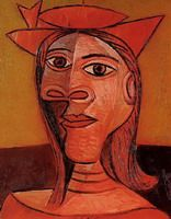Pablo Picasso. Woman with Hat (Dora Maar), 1938