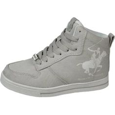 Beverly Hills Polo Club Boys (Little Kid/Youth) Big Winner Light Grey/White Sneakers - http://shoes.goshopinterest.com/boys/sneakers-boys/beverly-hills-polo-club-boys-little-kidyouth-big-winner-light-greywhite-sneakers/