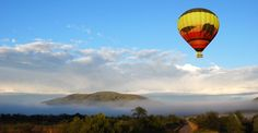A truly unique way to see the breath-taking beauty of the Gauteng landscape – specifically the Cradle of Humankind Heritage Site and the Pilansberg National Park – is from the inside of a hot air balloon basket. #VisitGauteng #GeePeeShotLeft http://www.gauteng.net/cradleofhumankind/attractions-entry/airtrackers_hot_air_balloon_safaris_and_flying_pictures