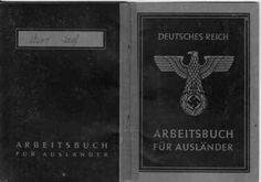 My grandfather passport during WW2