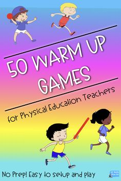 Physical Education - Warm Up Games Grades Pflanzideen, Physical Education Activities, Health Education, Motor Activities, Education Week, Movement Activities, Preschool Education, Preschool Learning, Classroom Activities, Higher Education