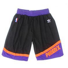 NBA Suns throwback shorts black