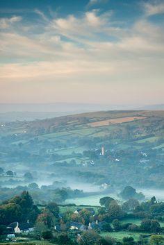 Widecombe-in-the-Moor, Dartmoor, Devon