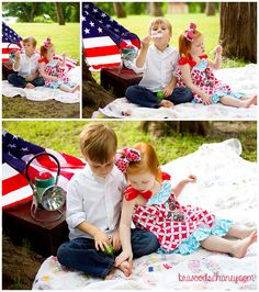 Fourth of July Mini Session // Bri Woods Chaney Photography // Central Arkansas Child Portrait Photographer