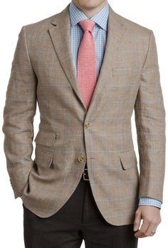 d36f069dc7b Carlo Barbera Windowpane Sport Coat - Suits   Blazers - Clothing - Men