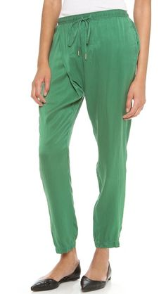 Clu Sarong Pants $231 also in navy $161.70 Best color ever.