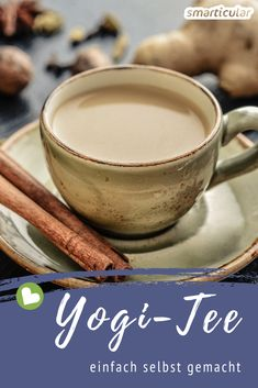 Yogitee auf Vorrat selber machen – Grundrezept mit vielen Varianten Yogi tea is actually no tea, but a delicious spice mixture. Here's how to make it yourself at home. Healthy Eating Tips, Healthy Nutrition, Clean Eating, Lillet Berry, Gin, Vegetable Drinks, Medicinal Herbs, Tea Recipes, Food Items