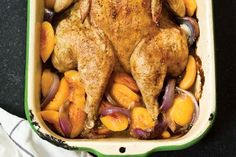 Rosemary Peach chicken