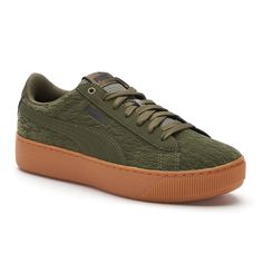 70abb4f27e3 PUMA Vikky Platform Velvet Flocked Women s Sneakers