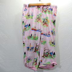 Nick & Nora Lounge Pants Capri Pajama Bottoms Size XXL Dogs Camping Fishing Boat #NickNora #LoungePants #Everyday