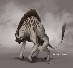 Alien monster 054 by Alexander Thümler (miNze).