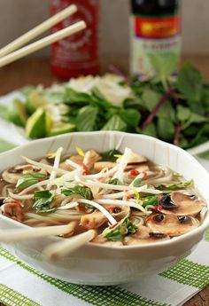 Vegetarian Pho from Scratch (with Optional Beef for the Meat-Eaters) | Kitchen Treaty