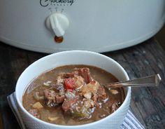 Crock Pot Chicken & Sausage Gumbo.