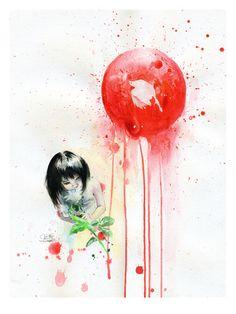 Red Sun by Lora Zombie. Shop high quality prints and original art directly from Lora Zombie. Art Zombie, Zombie Eyes, Sun Prints, Fine Art Prints, Art Soleil, Art Grunge, Apple Art, Red Sun, Sun Art