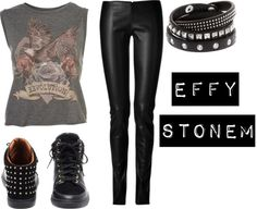 """Effy Stonem #1"" by biebermaze ❤ liked on Polyvore"