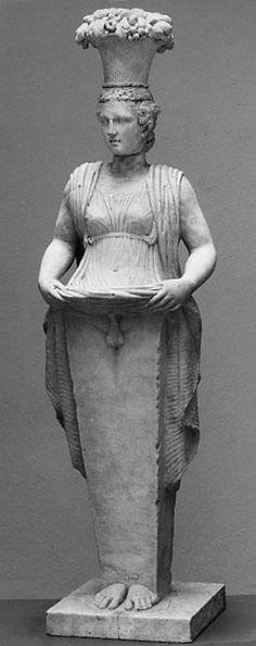 Herma de Afrodito, Museo Nacional de Estocolmo.