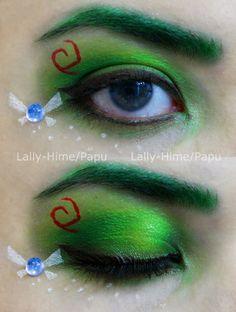 Link The Kokiri's Boy- Zelda Make-up by Lally-Hime.deviantart.com on @deviantART