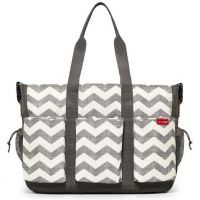Skip Hop Duo Double Deluxe Nappy Bag - Chevron  $119.96* *SAVE 20% www.mamadoo.com.au #mamadoo #skiphop #fave #favetoy #sale