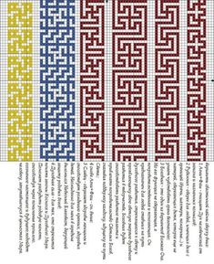 This Pin was discovered by Mar Bead Crochet Patterns, Mosaic Patterns, Beading Patterns, Cross Stitch Patterns, Crochet Chart, Loom Bracelet Patterns, Bead Loom Bracelets, Filet Crochet, Knitting Charts