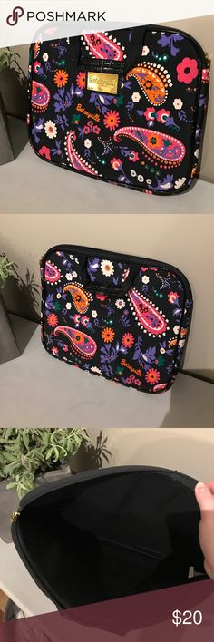 Betsy Johnson paisley laptop bag Perfect condition! Genuine Betsy Johnson! Make me an offer! Betsey Johnson Bags Laptop Bags