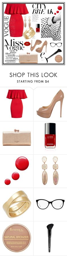 """""""Untitled #2"""" by sladja-d-s ❤ liked on Polyvore featuring Soprano, Christian Louboutin, Ted Baker, Topshop, Cartier, Rimmel, Old Navy and Lime Crime"""