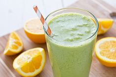 Green Orange Dreamsicle Smoothie + Vitamix TurboBlend VS Review
