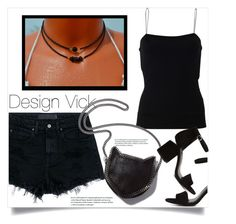 """""""Design Vick"""" by amra-mak ❤ liked on Polyvore featuring T By Alexander Wang, Alexander Wang, STELLA McCARTNEY and designvick"""