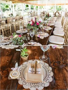 easy rustic wedding ideas | elegant gold and pink reception | table decor | favor ideas | #weddingchicks