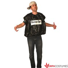 Fancy Dress Costumes: This is literally one of the most simple costumes we have ever seen. If you really can't be bothered to get all dressed up but want to be able to shove something on quickly so you are half-heartedly getting into the spirit of things this DoucheBag Costume ticks all those boxes.