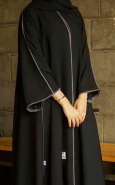 Niqab Fashion, Modest Fashion Hijab, Kimono Fashion, Fashion Outfits, Mode Abaya, Mode Hijab, Abaya Designs Latest, Fancy Dress Design, Muharram