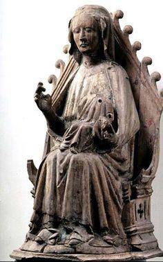 Mary and Jesus Björke, region of Gotland, Sweden Made in Gotland 1300-1325