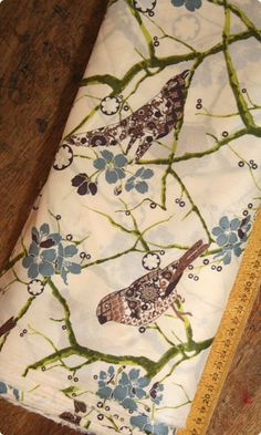 Liberty Print Tana Lawn - Birdsong - don 't like classical Liberty fabrics but this is gorgeous