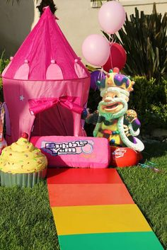 Candyland Birthday Party Ideas | Photo 11 of 17 | Catch My Party