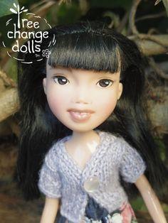 Tree Change Doll 71 OOAK repainted restyled by TreeChangeDolls