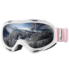 OTG (OVER-THE-GLASSES) DESIGN Ski goggles that fits over glasses. Suitable for both ADULTS AND YOUTH. ANTI-FOG LENS & EXCELLENT OPTICAL CLARITY Dual-layer lens technology with anti-fog coated inner lens gives you a FOG-FREE SKI EXPERIENCE. SAFE & RELIABLE WITH UV PROTECTION Soft TPU...